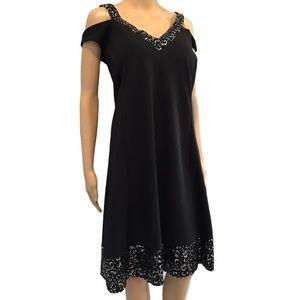 Michel Studio black elegant dress size 20